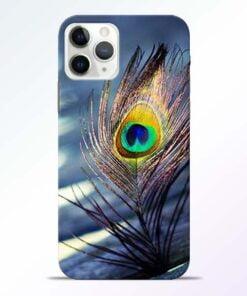 Krishna More Pankh iPhone 11 Pro Max Mobile Cover