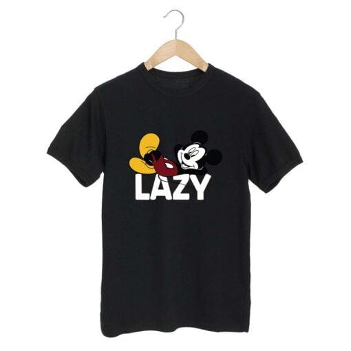 Lazy Black T shirt