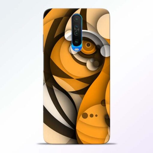 Lion Art Poco X2 Mobile Cover