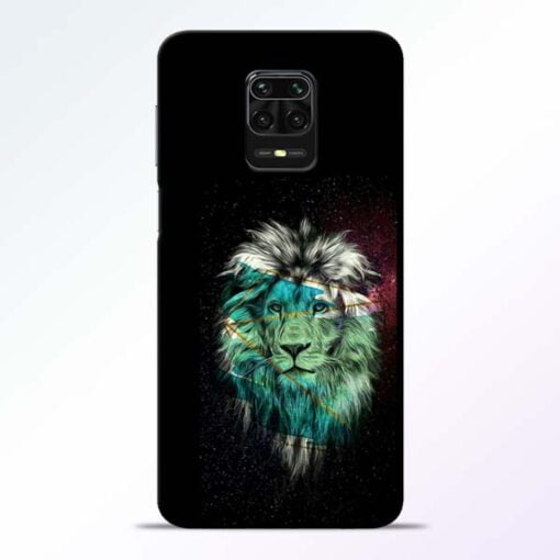 Lion Print Redmi Note 9 Pro Mobile Cover