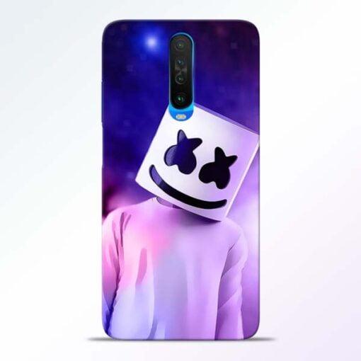 Marshmello Poco X2 Mobile Cover