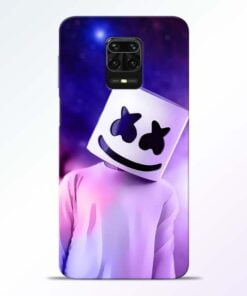 Marshmello Redmi Note 9 Pro Mobile Cover