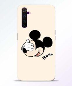 Mickey Face Realme 6 Mobile Cover