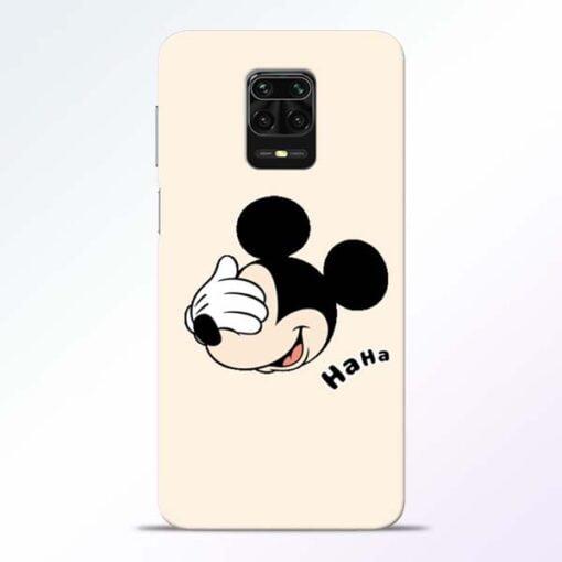 Mickey Face Redmi Note 9 Pro Mobile Cover