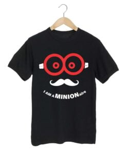 Minion Aire Black T shirt