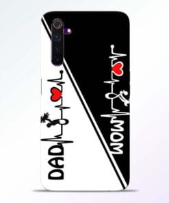 Mom Dad Realme 6 Pro Mobile Cover