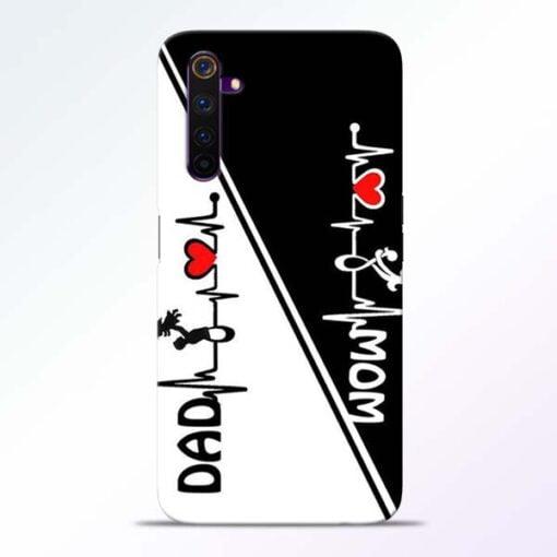 Mom Dad Realme 6 Pro Mobile Cover