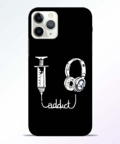Music Addict iPhone 11 Pro Max Mobile Cover