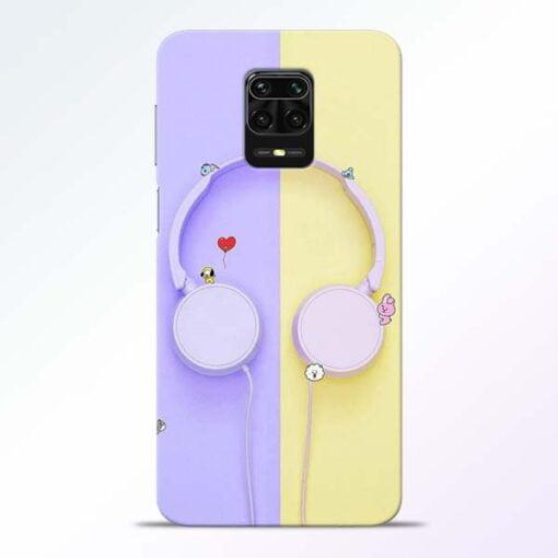 Music Lover Redmi Note 9 Pro Mobile Cover