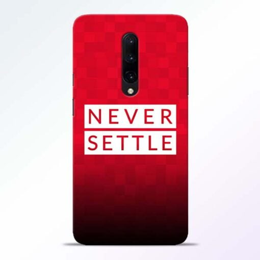 Never Settle OnePlus 7 Pro Mobile Cover