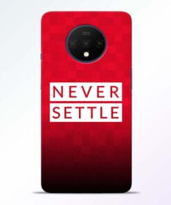 Never Settle OnePlus 7T Mobile Cover