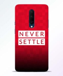 Never Settle OnePlus 7T Pro Mobile Cover
