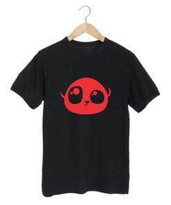 Panda Black T shirt