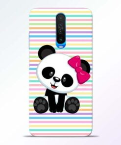 Panda Girl Poco X2 Mobile Cover