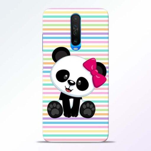 Panda Girl Poco X2 Mobile Cover