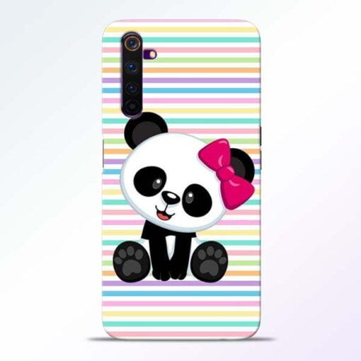 Panda Girl Realme 6 Mobile Cover