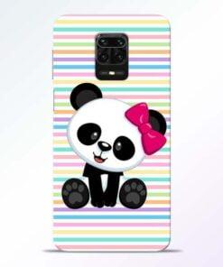 Panda Girl Redmi Note 9 Pro Mobile Cover