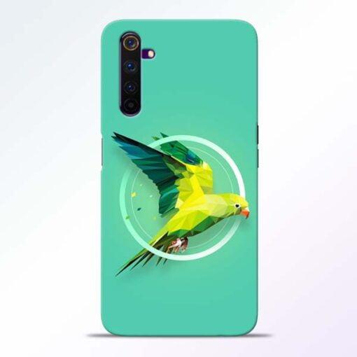 Parrot Art Realme 6 Mobile Cover