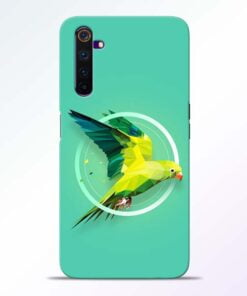 Parrot Art Realme 6 Pro Mobile Cover