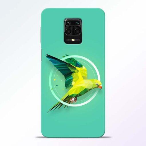 Parrot Art Redmi Note 9 Pro Mobile Cover