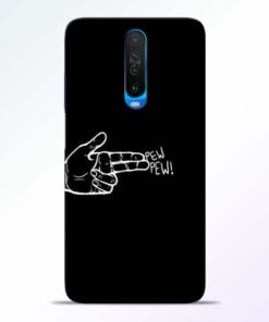 Pew Pew Poco X2 Mobile Cover