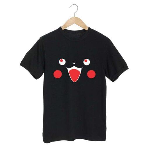 Picka chu Black T shirt