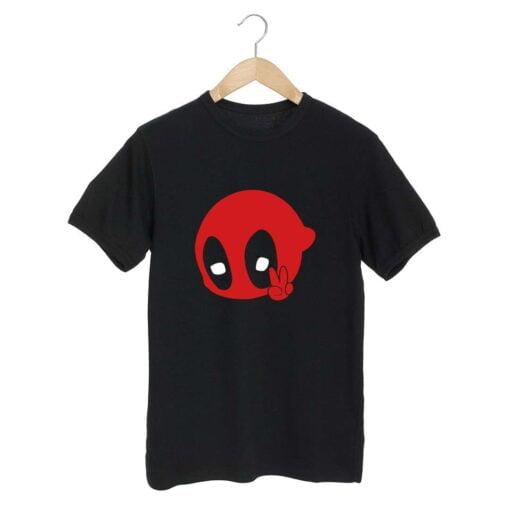Pool Peace Black T shirt