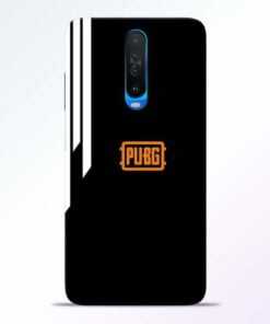 Pubg Lover Poco X2 Mobile Cover
