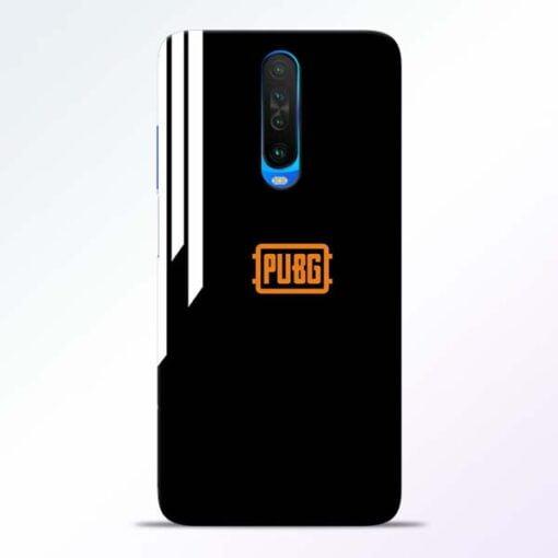 Pubg Lover Poco X2 Mobile Cover