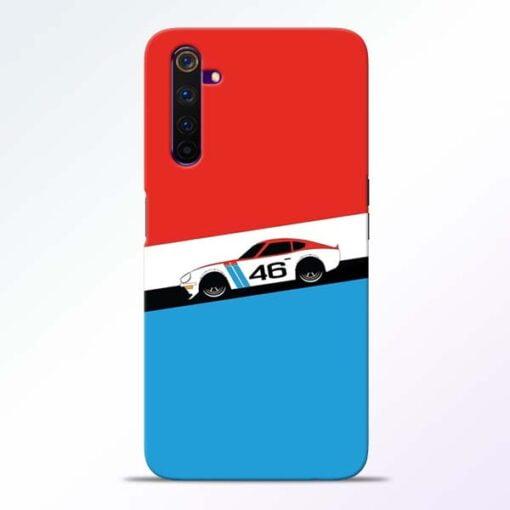 Racing Car Realme 6 Mobile Cover