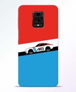 Racing Car Redmi Note 9 Pro Mobile Cover
