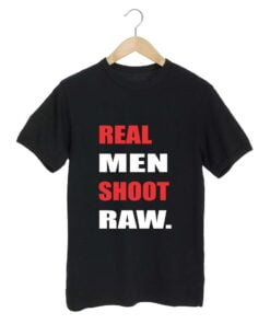Real Men Black T shirt