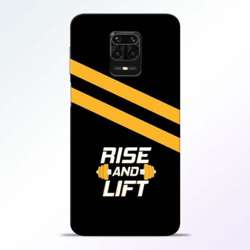 Rise and Lift Redmi Note 9 Pro Mobile Cover