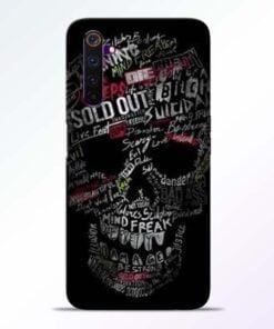 Skull Face Realme 6 Pro Mobile Cover