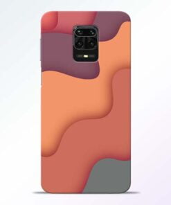 Spill Color Art Redmi Note 9 Pro Mobile Cover