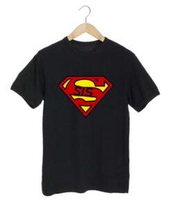 Superman S Black T shirt