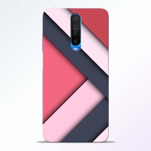 Texture Design Poco X2 Mobile Cover