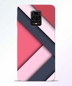 Texture Design Redmi Note 9 Pro Mobile Cover