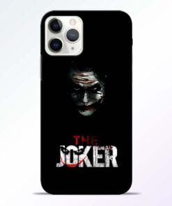 The Joker iPhone 11 Pro Max Mobile Cover