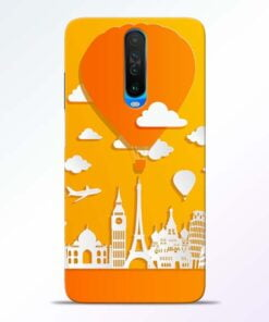 Traveller Poco X2 Mobile Cover