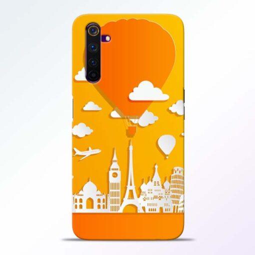 Traveller Realme 6 Pro Mobile Cover