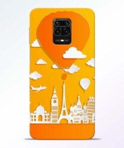 Traveller Redmi Note 9 Pro Mobile Cover