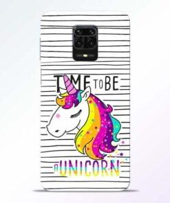 Unicorn Horse Redmi Note 9 Pro Mobile Cover