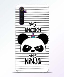 Unicorn Panda Realme 6 Mobile Cover