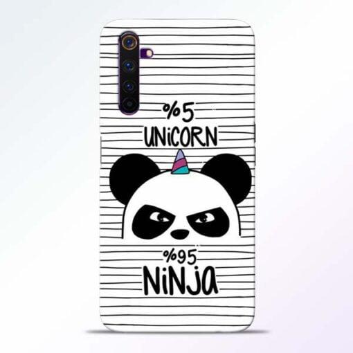 Unicorn Panda Realme 6 Mobile Cover