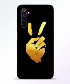Victory Hand Realme 6 Pro Mobile Cover