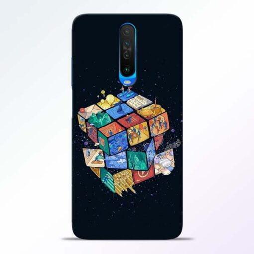 Wolrd Dice Poco X2 Mobile Cover