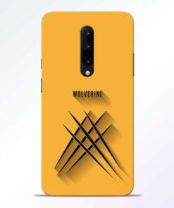 Wolverine OnePlus 7 Pro Mobile Cover