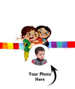 Customized Photo Rakhi Bother Sister