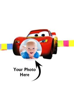 Customized Photo Rakhi Car